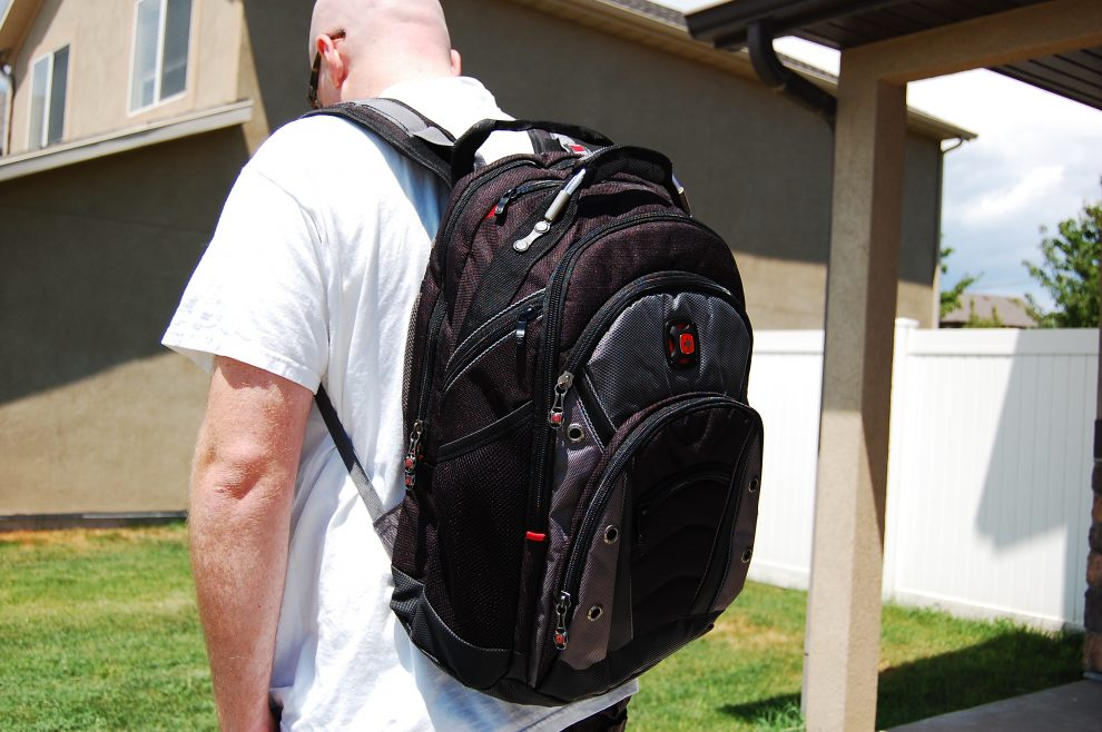 SwissGear Backpack from Staples Review - Family Tech Zone