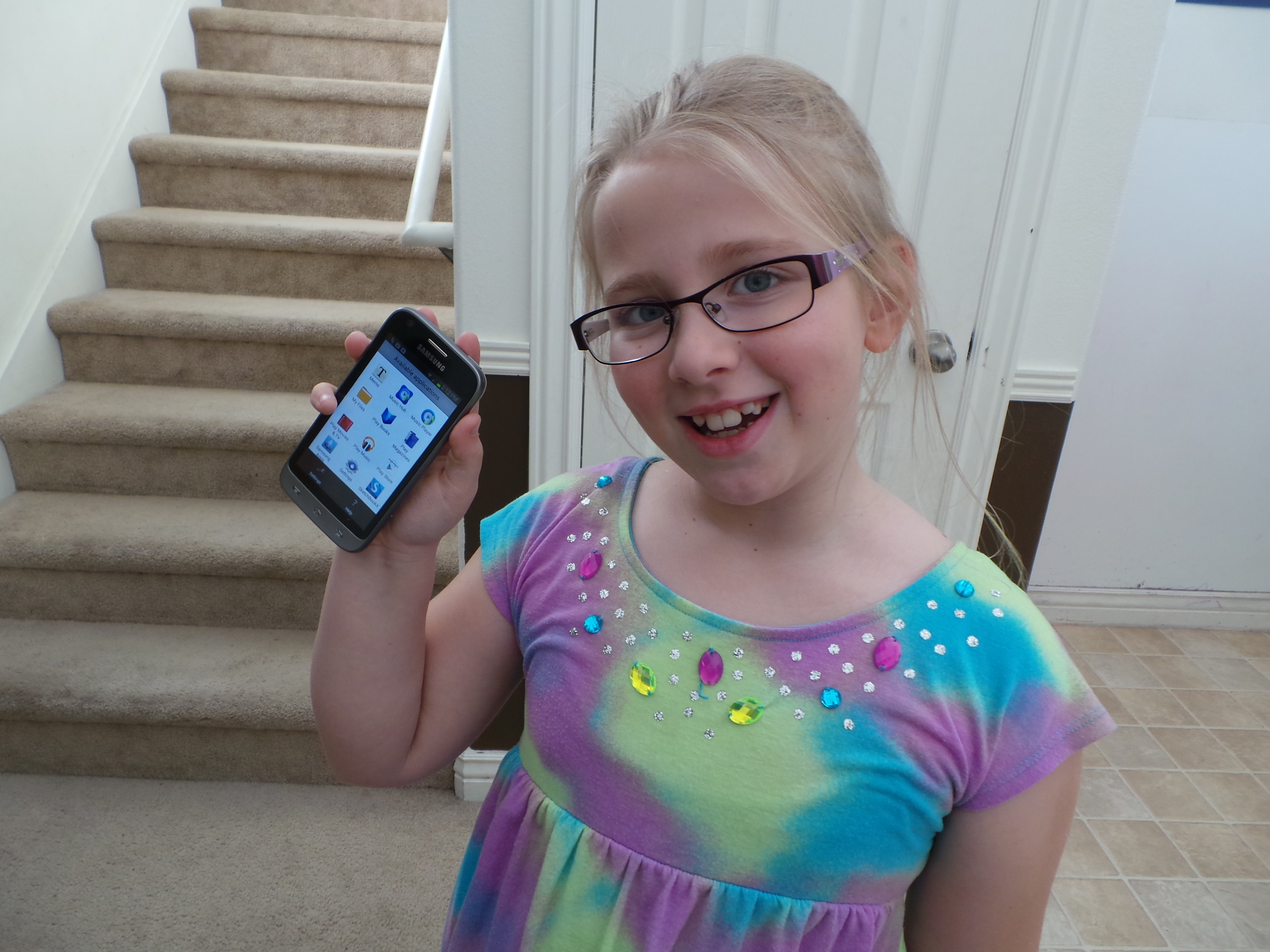 i gave my 8 year old a cell phone family tech zone