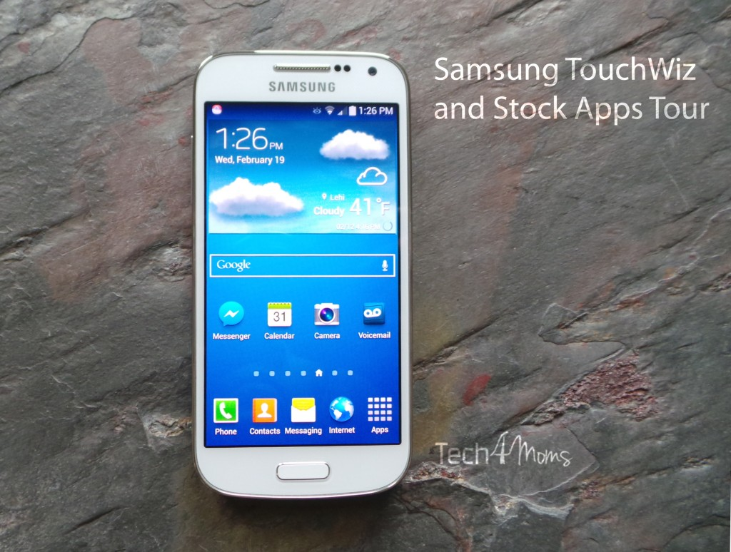 Samsung TouchWiz and Stock Apps Tour