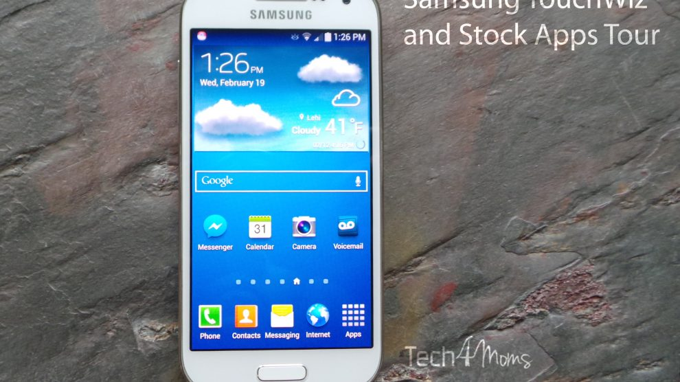 Samsung TouchWiz Interface Tour and Stock Samsung Apps