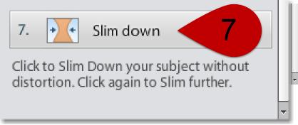 Slim Down Tool Perfect Portrait PSE 12