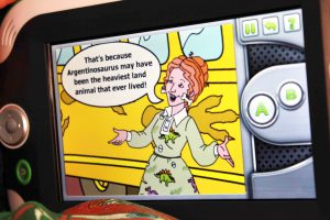 Magic School Bus Dinosaur LeapPad Game Facts