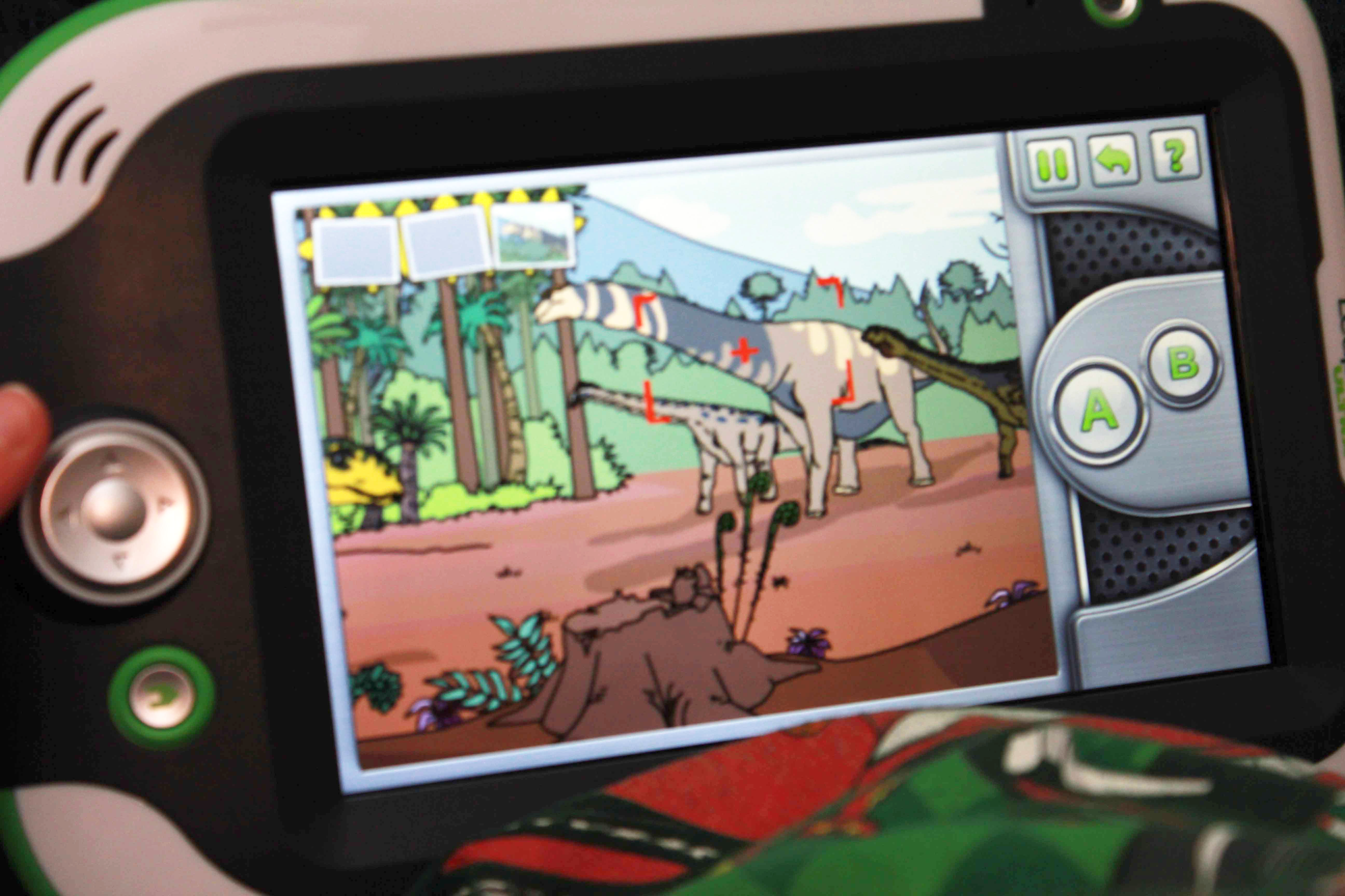 Magic School Bus Dinosaur LeapPad Game Dino Photos