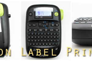 Epson Label Printer Collage
