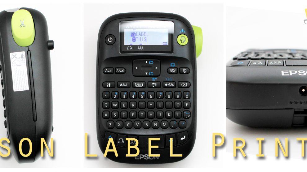 Epson Label Printer Collage