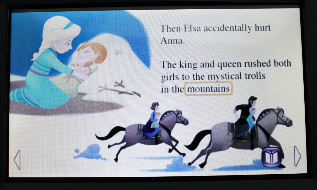 Frozen eBook Leap Frog illustrations