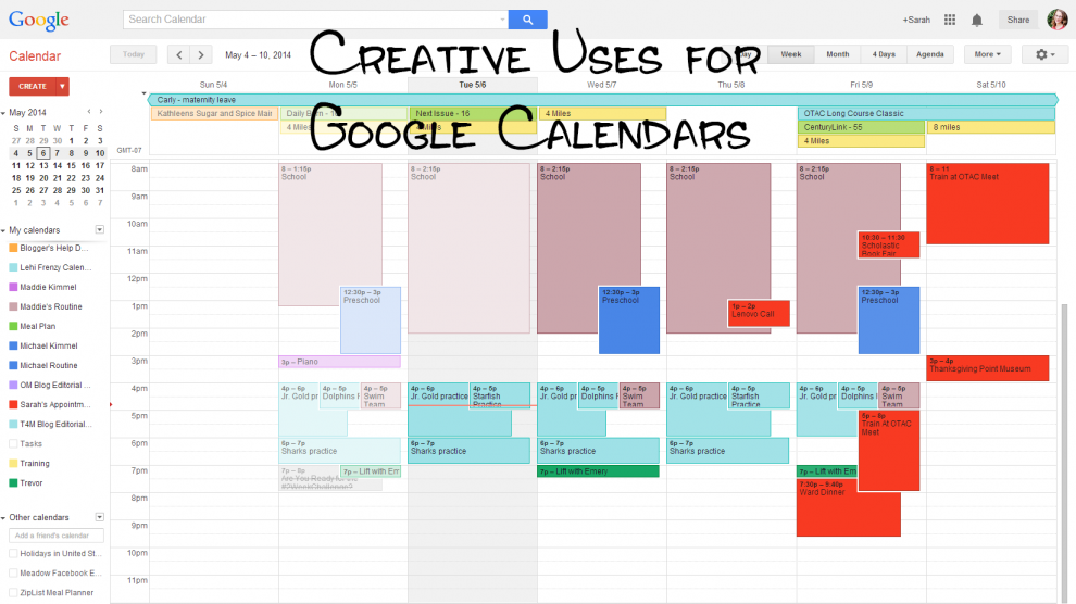 Share Google Calendars For the Ultimate Family Organizer - Family