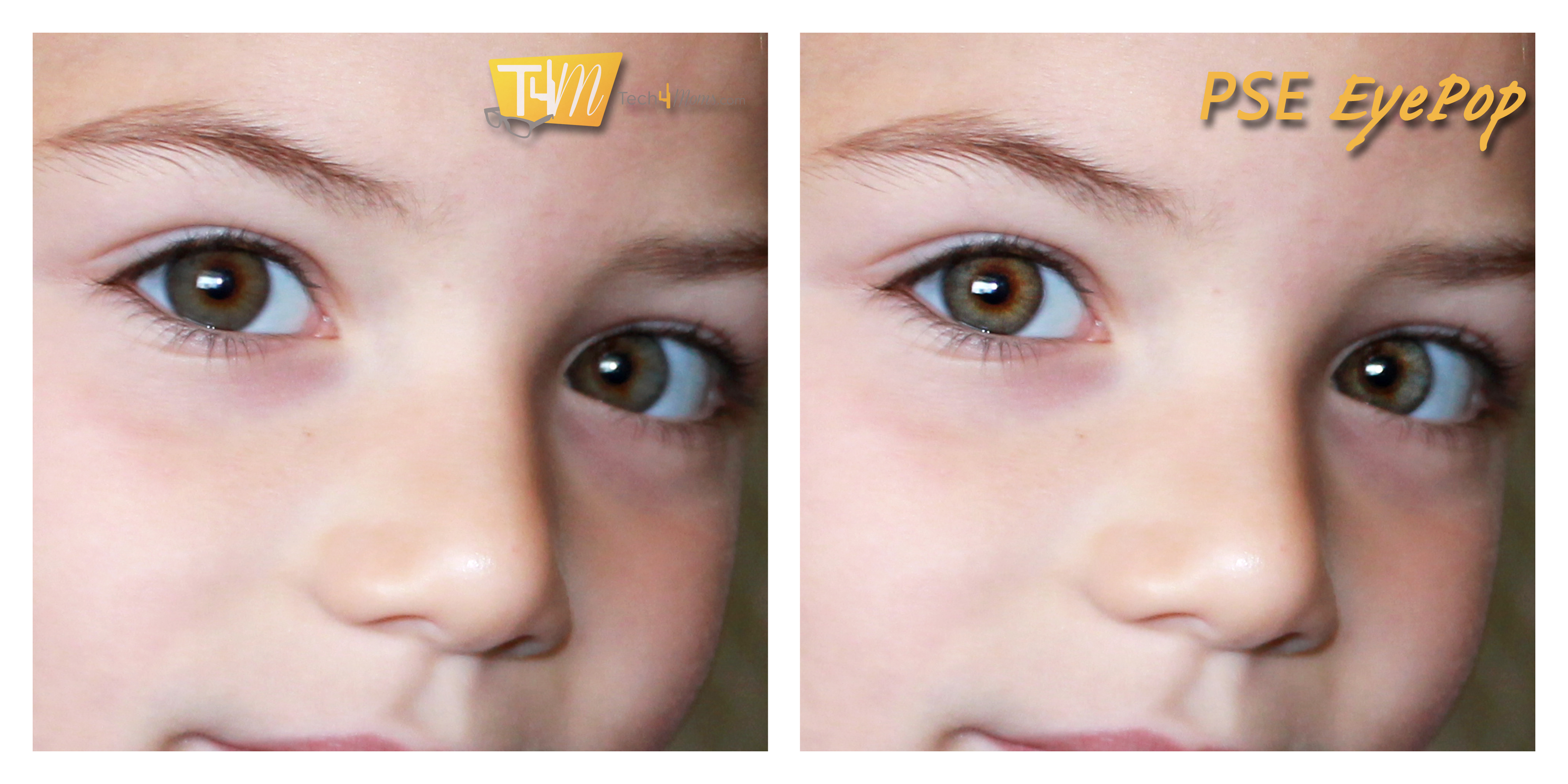 Before and After Eye Pop