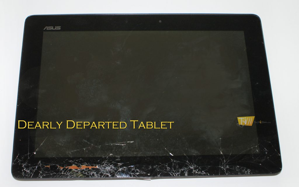 Destroyed Tablet