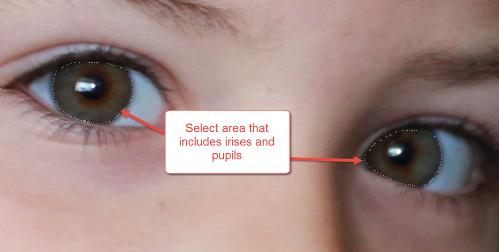 PSE 12 Eye Pop Tutorial 3
