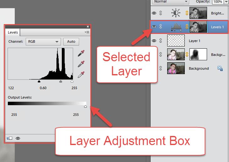 PSE Adjustment Layers Box