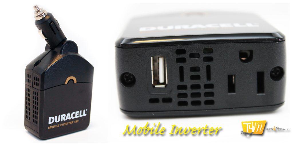 Duracell Mobile Inverter Angles
