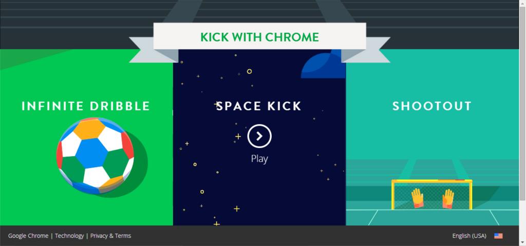 Kick With Chrome Start