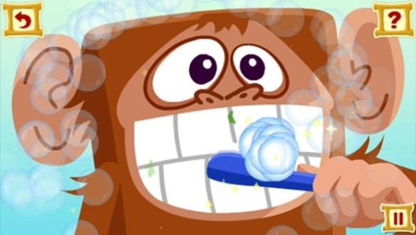 Get Ready for Kindergarten LeapPad Game Stretchy Monkey