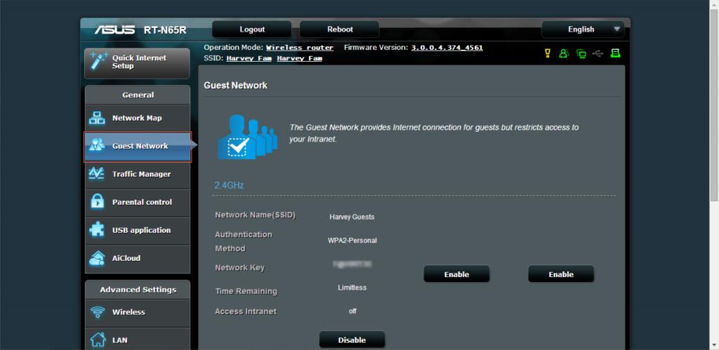 Guest Wifi Network 1