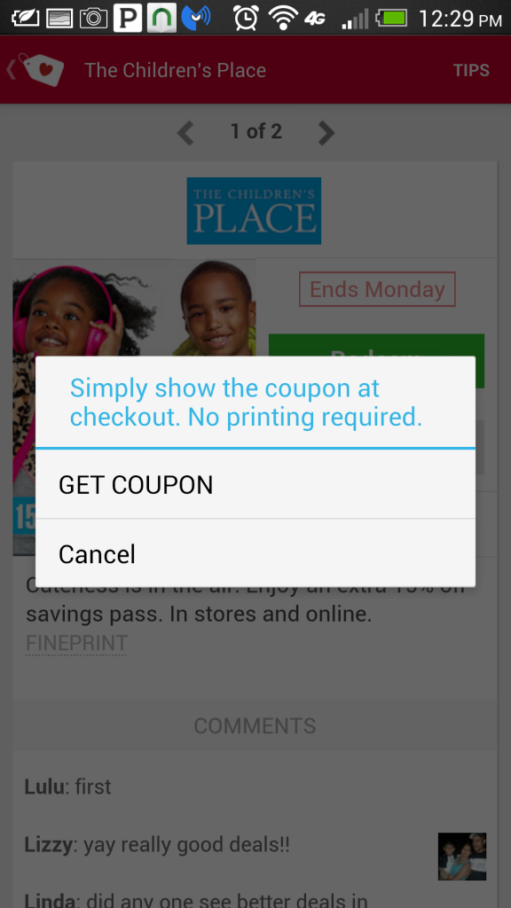 Shopular Redeem Coupon