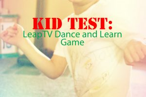 LeapTV Dance and Learn Feature