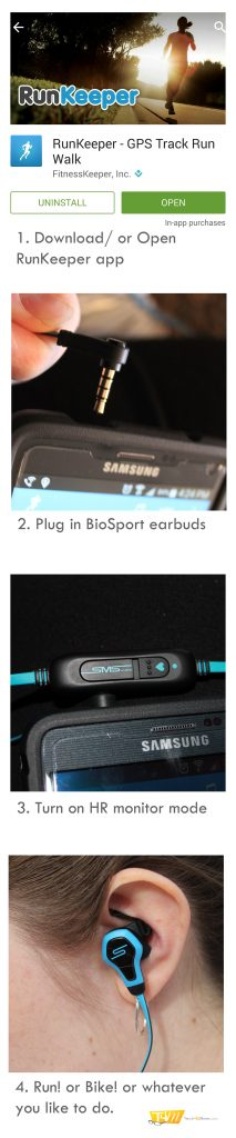 BioSport Earbuds How to Get STarted