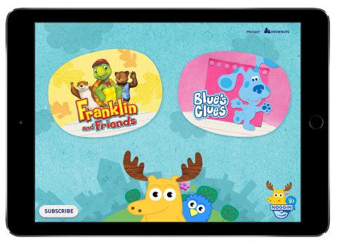 Noggin is a new mobile subscription service for preschoolers.