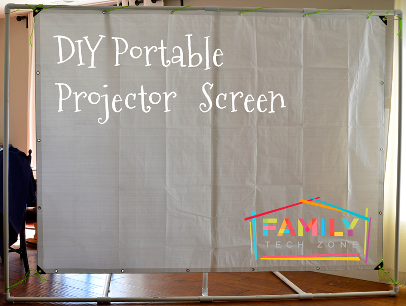 Diy Portable Projector Screen With Epson Projector Family Tech