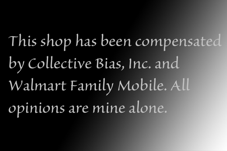 This shop has been compensated by Collective Bias, Inc. and Walmart Family Mobile. All opinions are mine alone.