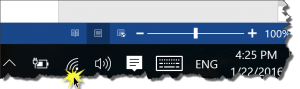Windows Toolbar