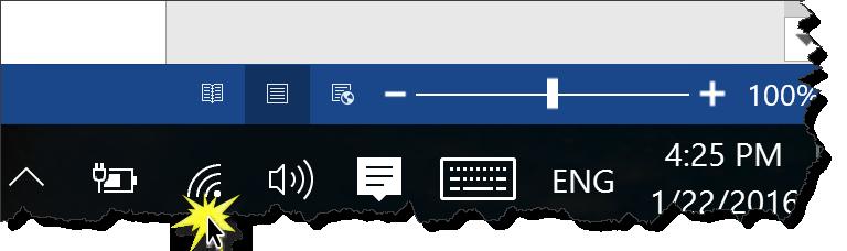 Windows Toolbar