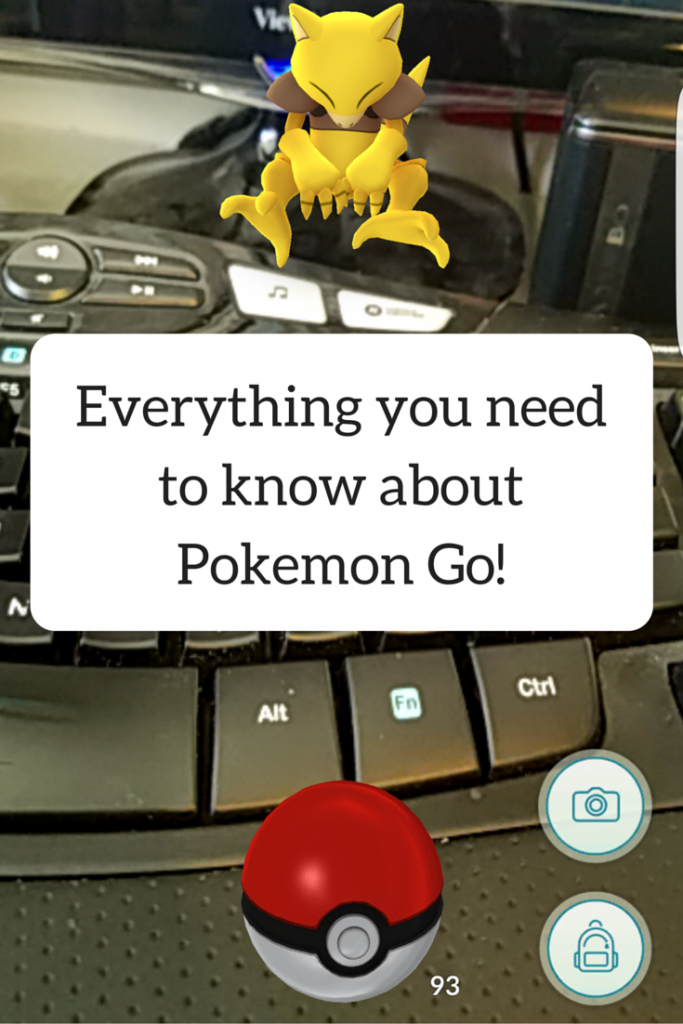Everything you need to know about Pokemon Go!