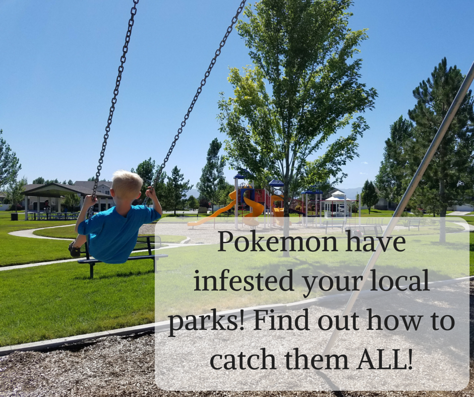 Pokemon have infested your local parks! Find out how to catch them ALL!