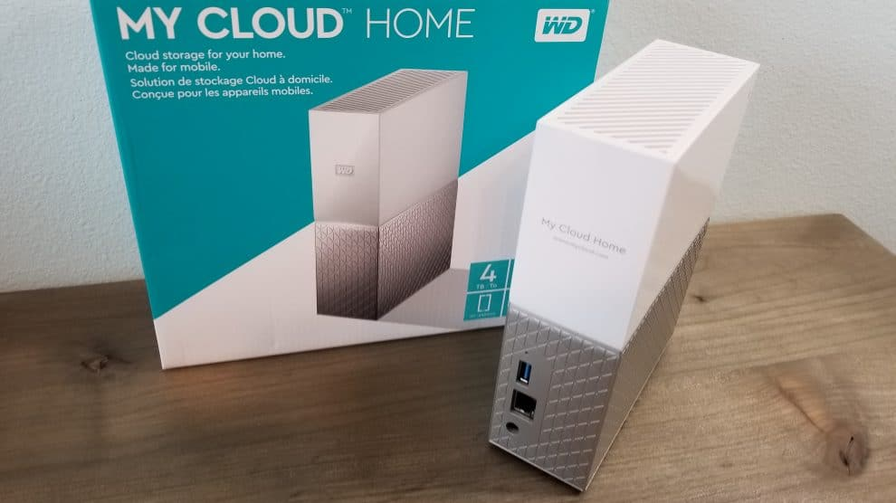 Western Digital's My Cloud Home, Aggregates All Your Digital