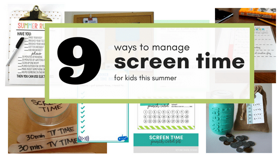 photograph relating to Screen Time Rules Printable referred to as 9 Methods in the direction of Afford Exhibit Period for Little ones this Summertime - Relatives Tech
