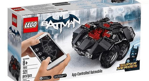Soon Your Kids Can Build and Code a LEGO Batmobile