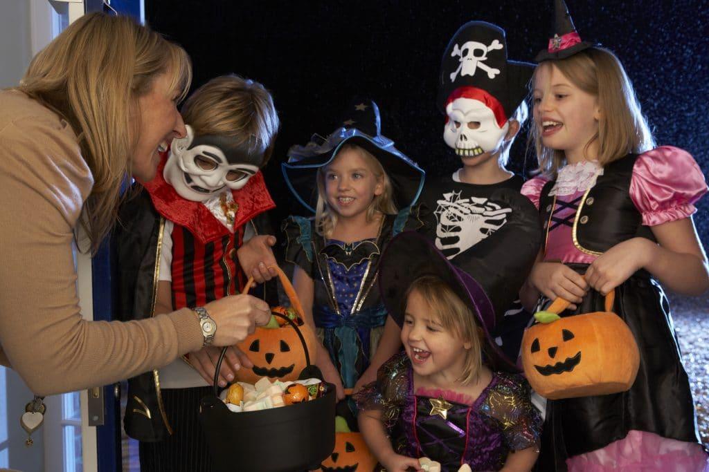 Halloween tech candy counter