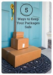 5 Ways to Keep Your Packages Safe