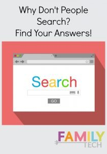 Why Don't People Search? Find Your Answers!