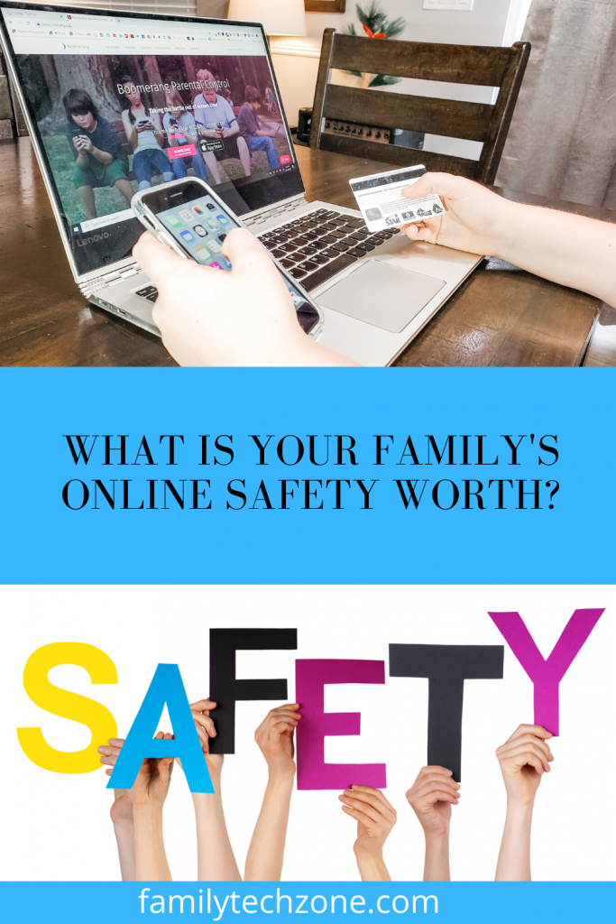 What is Your Family's Online Safety Worth?