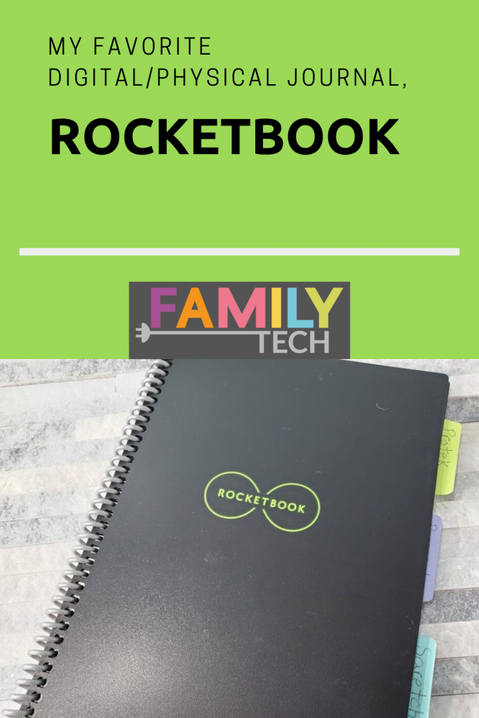 My Favorite Digital/Physical Journal, Rocketbook