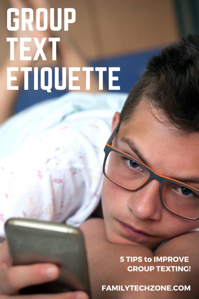 Group Text Etiquette