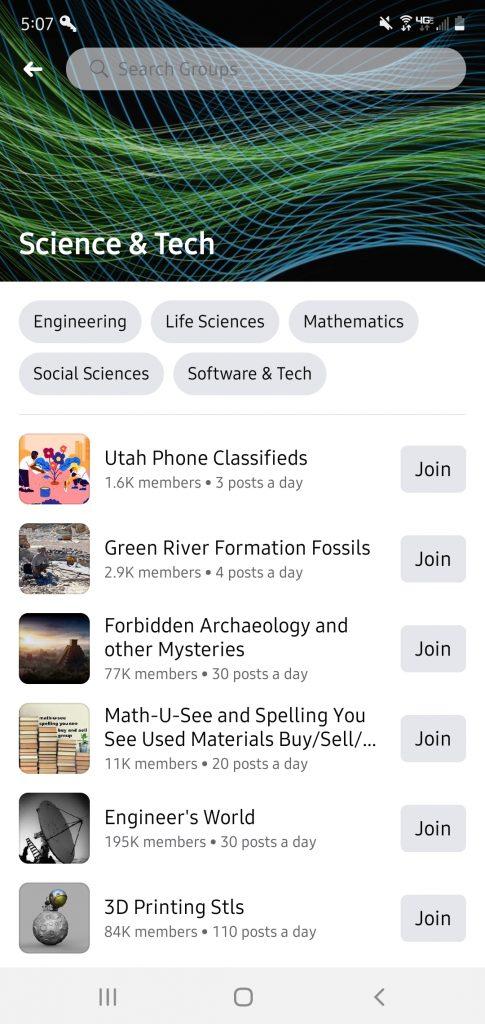 best Facebook groups for tech
